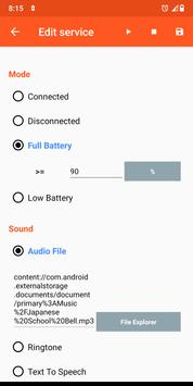 Battery Sound Notification скриншот 7