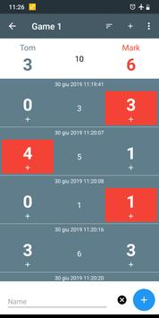 Versus Score Counter (Plus) screenshot 1