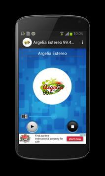 Argelia Estéreo 99.4 FM Poster