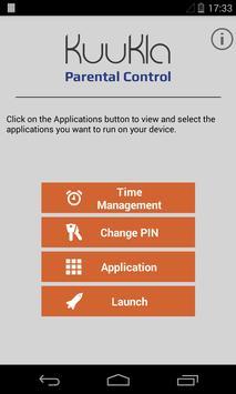 KuuKla Parental Control screenshot 1