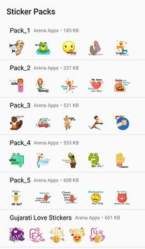 Gujarati Stickers - WAStickers screenshot 3