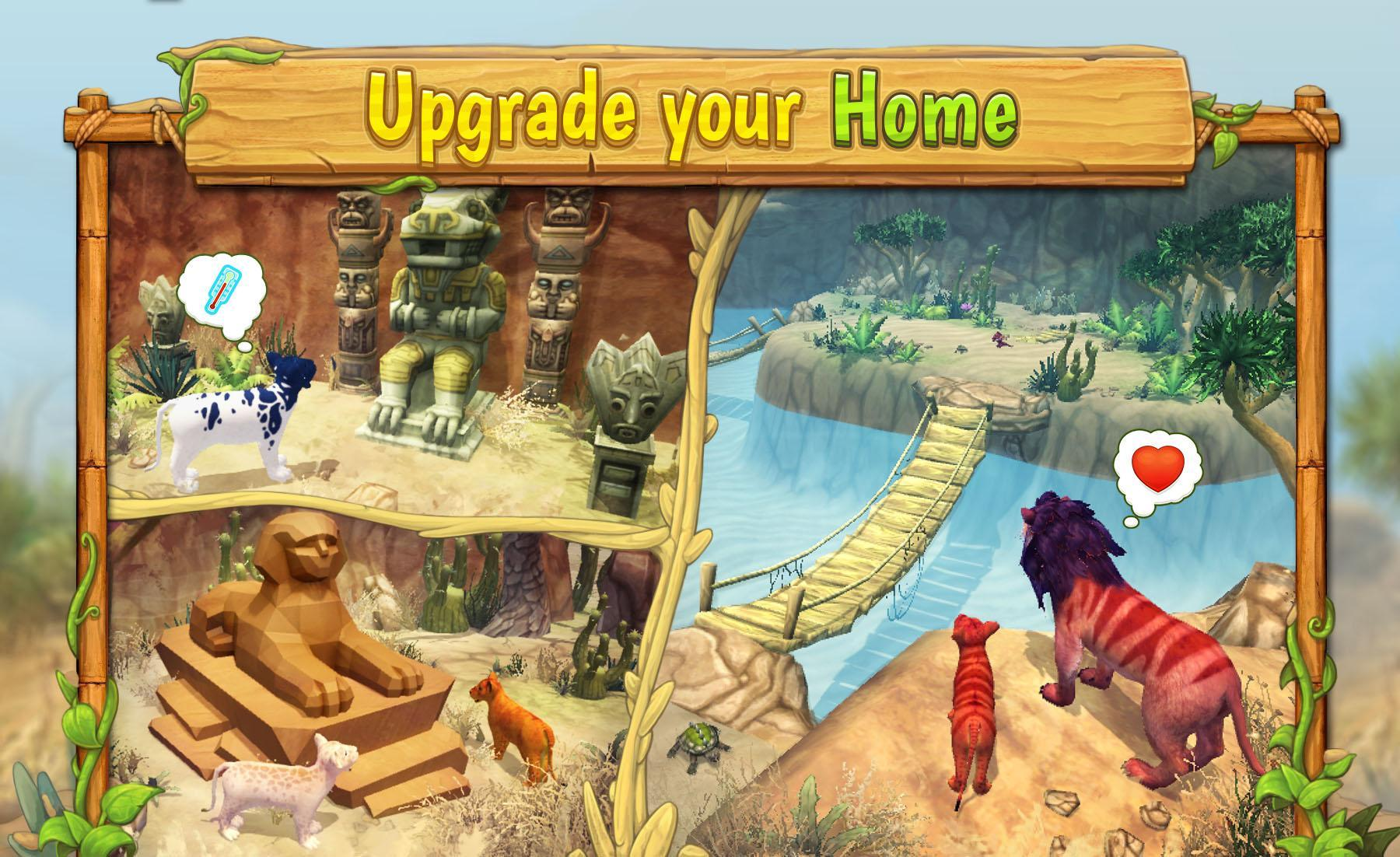 Lion Family Sim Online for Android - APK Download