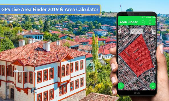 HUX Area Finder - Acreage Calculator, Area Measure poster