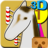 Horse Show Jumping VR icon