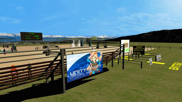 Horse Show Jumping VR poster