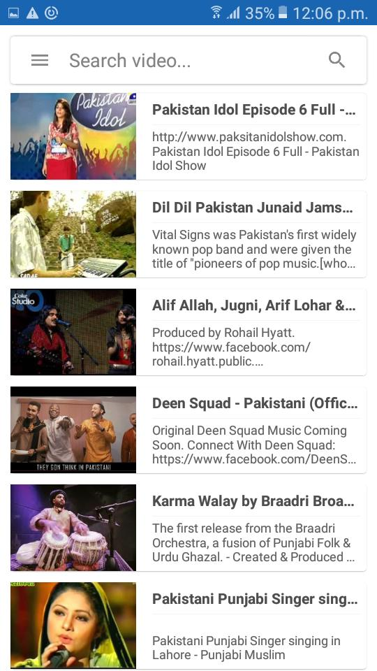 Pakistan Music Video - 🇵🇰 Free Movie & Musics for Android