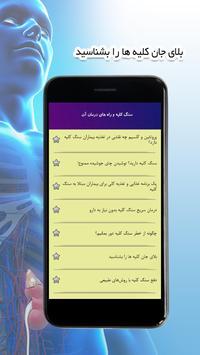 سنگ کلیه و راه های درمان آن screenshot 2