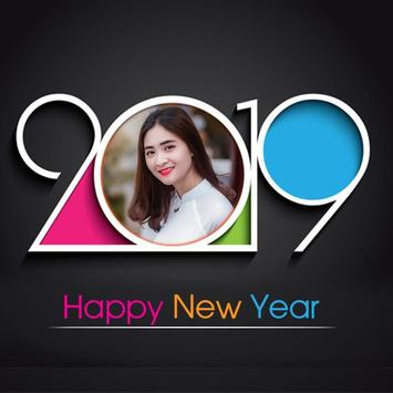 2019 New Year Photo Frames poster