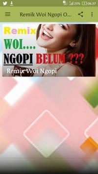 Remix Woi Ngopi Offline poster