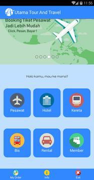 Utama Tour & Travel screenshot 1