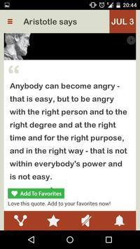 Aristotle Daily screenshot 1