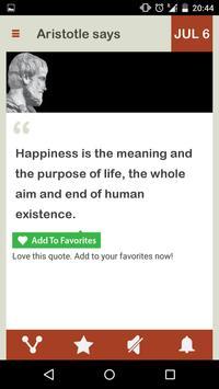 Aristotle Daily screenshot 7