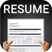 Resume builder Free CV maker templates formats app icon