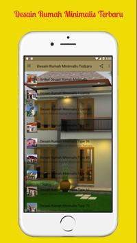 Desain Rumah Minimalis Terbaru screenshot 1