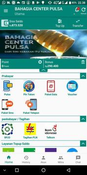 BAHAGIA CENTER PULSA screenshot 2