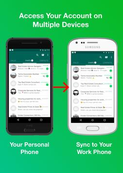 2 Schermata W Dual Messenger - Clone WA Messenger