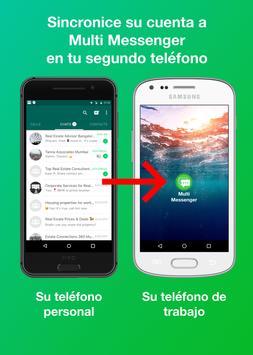 W Multi Messenger - WA Web (Whats Web Scan) Poster