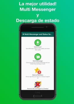 W Multi Messenger - WA Web (Whats Web Scan) captura de pantalla 5