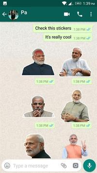Modi Sticker for WhatsApp screenshot 1