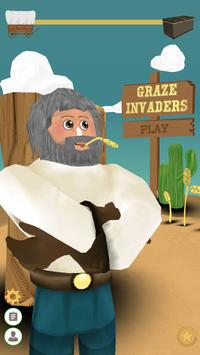 Graze Invaders poster