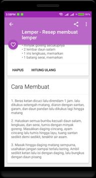 500+ Resep Masakan Nusantara Offline screenshot 3