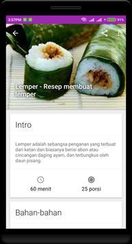500+ Resep Masakan Nusantara Offline screenshot 1
