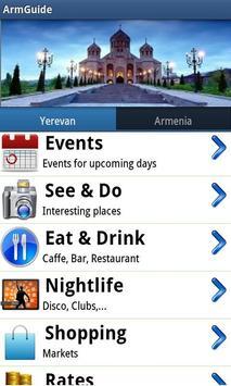 ArmGuide - Armenia - Yerevan poster