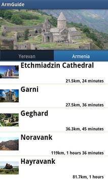 ArmGuide - Armenia - Yerevan screenshot 1