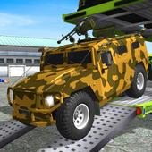Icona Army  Cars Transport Simulator 2019