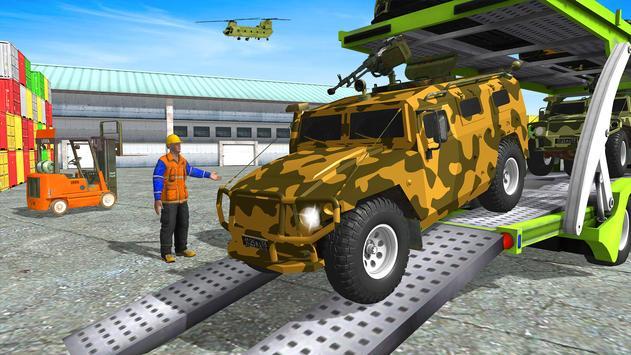 16 Schermata Army  Cars Transport Simulator 2019