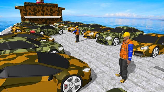 12 Schermata Army  Cars Transport Simulator 2019