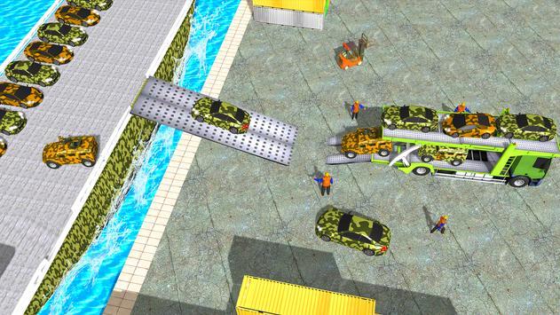 3 Schermata Army  Cars Transport Simulator 2019