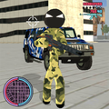 Army Stickman Rope Hero Counter Attack