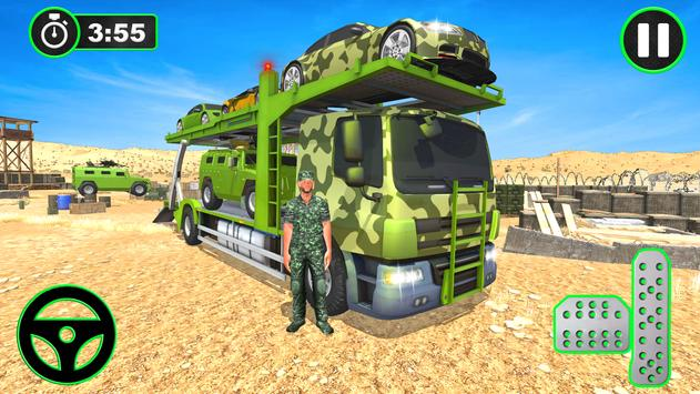 Army Vehicles Transport Simulator poster