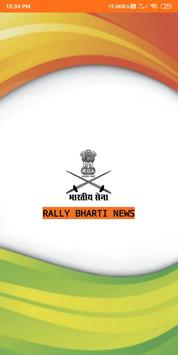Indian Army Open Rally Bharti News poster