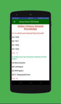 Army Exam GD/Clerk screenshot 4