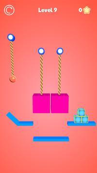 Rope Cutter 3D - Best  fun rope cutting ball game screenshot 4
