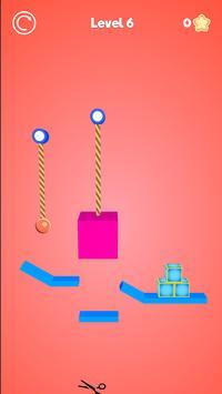 Rope Cutter 3D - Best  fun rope cutting ball game screenshot 6
