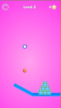 Rope Cutter 3D - Best  fun rope cutting ball game screenshot 2