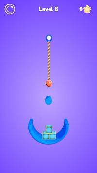 Rope Cutter 3D - Best  fun rope cutting ball game screenshot 3