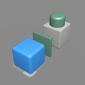 Push them all 3D - Smart block puzzle game icon