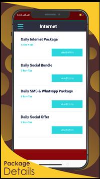 JAZZ  PACKAGES-Call, SMS & Internet Packages 2020 screenshot 2