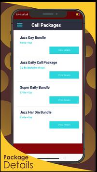 JAZZ  PACKAGES-Call, SMS & Internet Packages 2020 screenshot 3