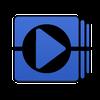 MKV Amp Player (MP4, DVD) 图标