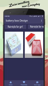 bakery box Design screenshot 4