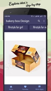 bakery box Design poster