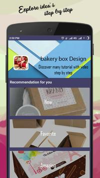 bakery box Design screenshot 3