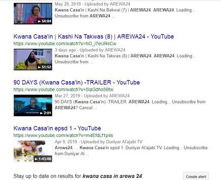 Arewa24 Kwana Casa In screenshot 2