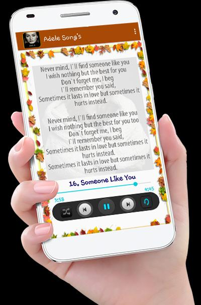 Adele Song's plus Lyrics for Android - APK Download