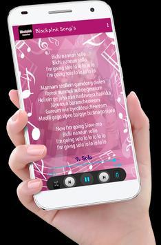 Blackpink Song's plus Lyric screenshot 3